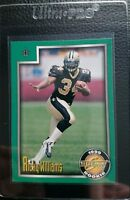 1999 SCORE #222 RICKY WILLIAMS ROOKIE CARD RC NEW ORLEANS SAINTS MINT