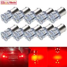 10Pcs 6V DC 1156 BA15S P21W Car Lamp Bulbs LED Tail Brake Stop Light Globe RED