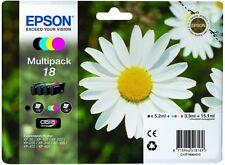 Genuine Epson t1806 Daisy Confezione Multipack inchiostro per stampante Epson