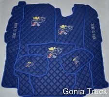"""MATS FULL SET for SCANIA R 2010+ AUTOMATIC """"ECO LEATHER"""" """"GRIFFIN """""""