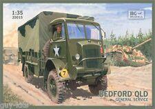 Camion Britannique BEDFORD QLD, WW2  - KIT IBG Models 1/35 n° 35015