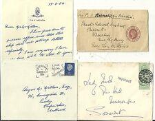 * c1900 / 54 3 p & o d'expédition liés Couvre & wrapper Marseille Amsterdam
