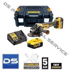 Smerigliatrice angolare 2 batterie 18v 5ah Litio DCG405P2 DeWalt Garanzia 3 anni