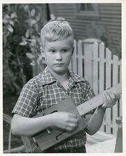 BRANDON DE WILDE WITH GUITAR PORTRAIT JAMIE ORIGINAL 1954 ABC TV PHOTO