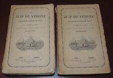 A. BRESCIANI - Le Juif de Vérone ou les sociétés secrètes en Italie - 1860  2/2