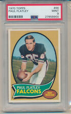 1970 Topps Football Paul Flatley (#66) PSA9 PSA