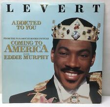 Coming To America Eddie Murphy Levert Addicted To You ATCO 0-96624  Lp Record Ex