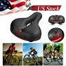 Comfort Wide Cruiser Bike Saddle Soft Gel Cushion Pad Bicycle Seat Breathable US