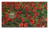 2018 $1 Red Poppy Armistice Centenary Specimen UNC with RAM Card