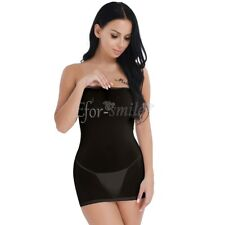 Sexy Women Bodycon Cocktail Evening Party See-through Short Mini Dress Nightwear