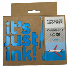 it's just ink! Brother Cartridge No LC 39 Cyan