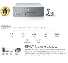 LG BE-16x Blu-ray Rewriter BD-RE/16x DVD±RW DL SuperSpeed USB 3.0 External Drive