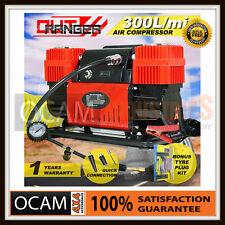 Car Air Compressor 12v 220PSI 300L/min 4x4 Tyre Deflator 4wd Portable Inflator