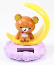Rilakkuma Relax Bear On the Crescent Moon Japan Figure Solar Toy Gift USA Seller