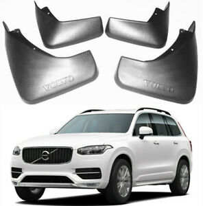 NEW OEM FRONT & REAR Splash Guards Mud Guards Mud Flaps FOR 2015-2021 Volvo XC90