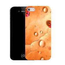 Étuis, housses et coques orange en silicone, caoutchouc, gel pour téléphone mobile et assistant personnel (PDA) Apple
