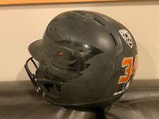 Game Used OSU Beavers Baseball Softball Helmet 2020 Season Black # 34 PAC 12