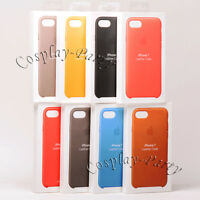 Genuine Original Apple Leather Snap Cover Case For iPhone 7 / iPhone 8