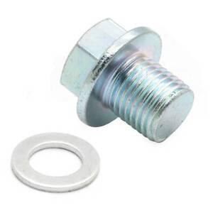 For Honda Acura Engine Oil Pan Drain Bolt Plug with Washer Kit #90009-R70-A00
