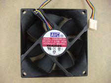 AVC DS08025R12U 8025 80mm x25mm Fan 12V 4Pin 0.70A PWM 3Pin Compatible 601