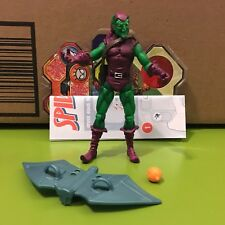 "SPIDER-MAN DIVE BOMBER GREEN GOBLIN 3.75"" ACTION FIGURE 2010 LINE 100% COMPLETE"