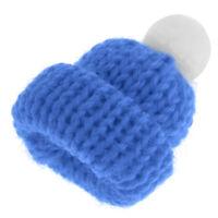 Miniature Hats for 1:12 Scale Dollhouse Miniature Home Shop Accessory Blue