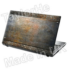 "17 ""Laptop SKIN Cover Adesivo Decalcomania PIASTRA METALLICA 269"