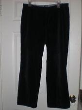 Gap black velvet pants, women's size 10R *SHORT*
