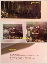 Maurice Utrillo Print Plate 13 THE BERLIOZ  HOUSE /HUNTING LODGE OF HENRY IV