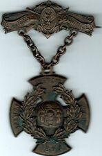 New Jersey 1898 War w Spain Cross Medal National Guard Spanish American Mkr HM