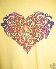 New Peace Frogs Tonal Heart Medium Adult T-Shirt