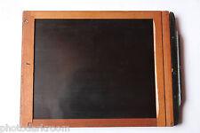 "4x5"" Glass Plate Film Holder - Wood - 120x153x13 - Side Latch Spring - USED W89"