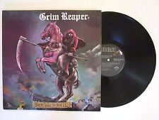 GRIM REAPER SEE YOU IN HELL LP U.S. ORIG. 1984 RCA 58038 NWOBHM VG++