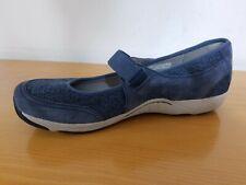 Dansko Hennie Blue Suede Mary Jane Women's Shoes  - NEW  -  Size EU 41