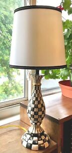 MY OWN Whimsical HP Courtly Lamp with Shade - MacKenzie-Childs Ribbon Bow