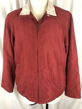 Orvis Signature Collection Men's L/S Full Zip Soft Shell Microsuede Jacket Sz M