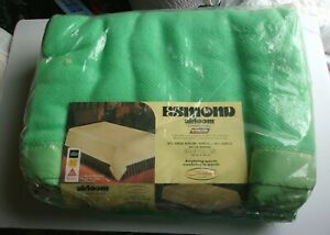 VINTAGE NOS 70S CHATHAM ESMOND AIRLOOM LIME GREEN ACRYLIC 80 X 90 FULL BLANKET