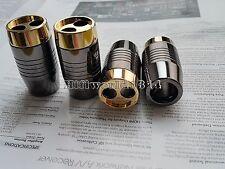 4x P15 Copper Alloy Speaker Cable Audio Wire Pants Boots Y splitter Pant 15MM