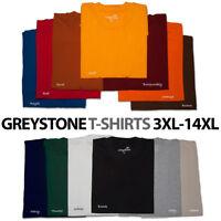 BIG and TALL Greystone T-Shirts & HEAVY DUTY 3X 4X 5X 6X 7X 8X 10X 12X 14X