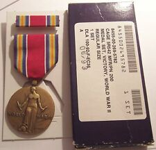 WW II Victory Medal GI Issue Set in BOX