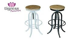 Iron Industrial Bar Stools