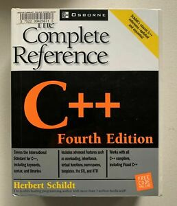 C++: The Complete Reference 4th Ed Osborne Complete Reference Series 2000 Paperb
