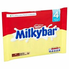Milkybar White Chocolate 4 Pack (100G) UK MADE NOT IMPORTED!
