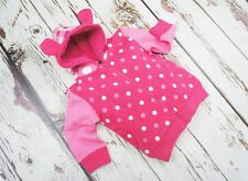 Blade & Rose Unicorn Collection - Baby Pink Spot Hoodie 0-6 Months