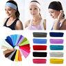 Stretch Ribbon Headwear Sweat Band Hairband Elastic Headbands Yoga Hair Bands