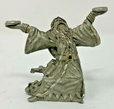 Spoontiques - Pewter 55mm Sorcerer Wizard #8070 - Miniature Figure