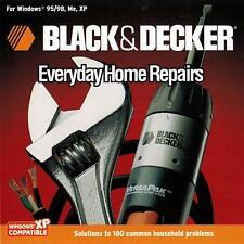 Black & Decker Everyday Home Repairs Cd Rom (Win 95/98, Me, Xp)
