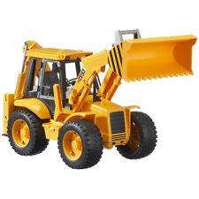 Bruder Baggerlader TOP Profi Serie 02428 Baufahrzeuge, Kinderspielzeug, Bagger
