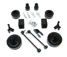 TeraFlex Jeep JK 2.5 inch Performance Budget Boost w/ Shock Adapters 2DR & 4DR