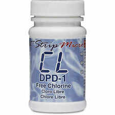 Free Chlorine (DPD-1) Test Strips for eXact iDip Photometer Bottle of 100